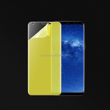 Full cover anti-shock TPU screen protector film for Galaxy Note 8