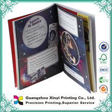 guangzhou colorful printing softcover book