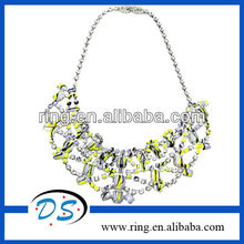 Fashion Tom Binns Hand Painted Chandelier Necklace