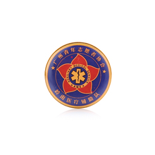 Bulk Custom Gold Plated Soft Enamel Metal Lapel Pin Badge