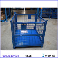 Industry Foldable Metal Wire Mesh Container