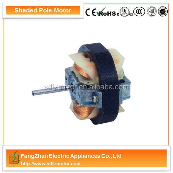 mini electric fan motor ce/ul