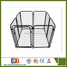 Outdoor modular PVC Coated iron fence large Metal Wire Dog Kennel