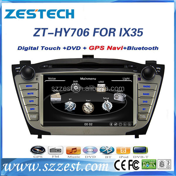 ZESTECH For Hyundai ix35 accessories 7 inch car audio system