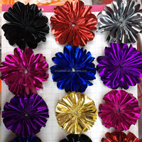 Bright and Shinning Color Fabric Flower for Festival,Hair accessories
