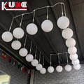color changing mood led light ball outdoor hanging led light ball for ceiling