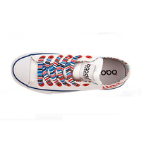 2014 hot selling 2014 newest design canvas shoe