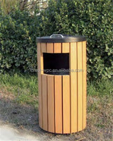 garbage can wpc composite wood decking pergola fence tile wooden arched gate