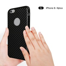 China factory case for iphone 6 carbon fiber cell phone case carbon fiber cover