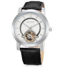 Automatic Mechanical Genuine Leather Luxury Men Hand Watch