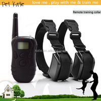 300 Meters Remote Distance Rechargeable Electric Shock Collar for Dogs