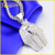 Mens Solid White Gold Real Diamond sterling silver king tut pendant