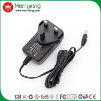 2016 new portable 15v 1000ma 1500ma 2a variable power supply charger adapter for 12v powered speakers