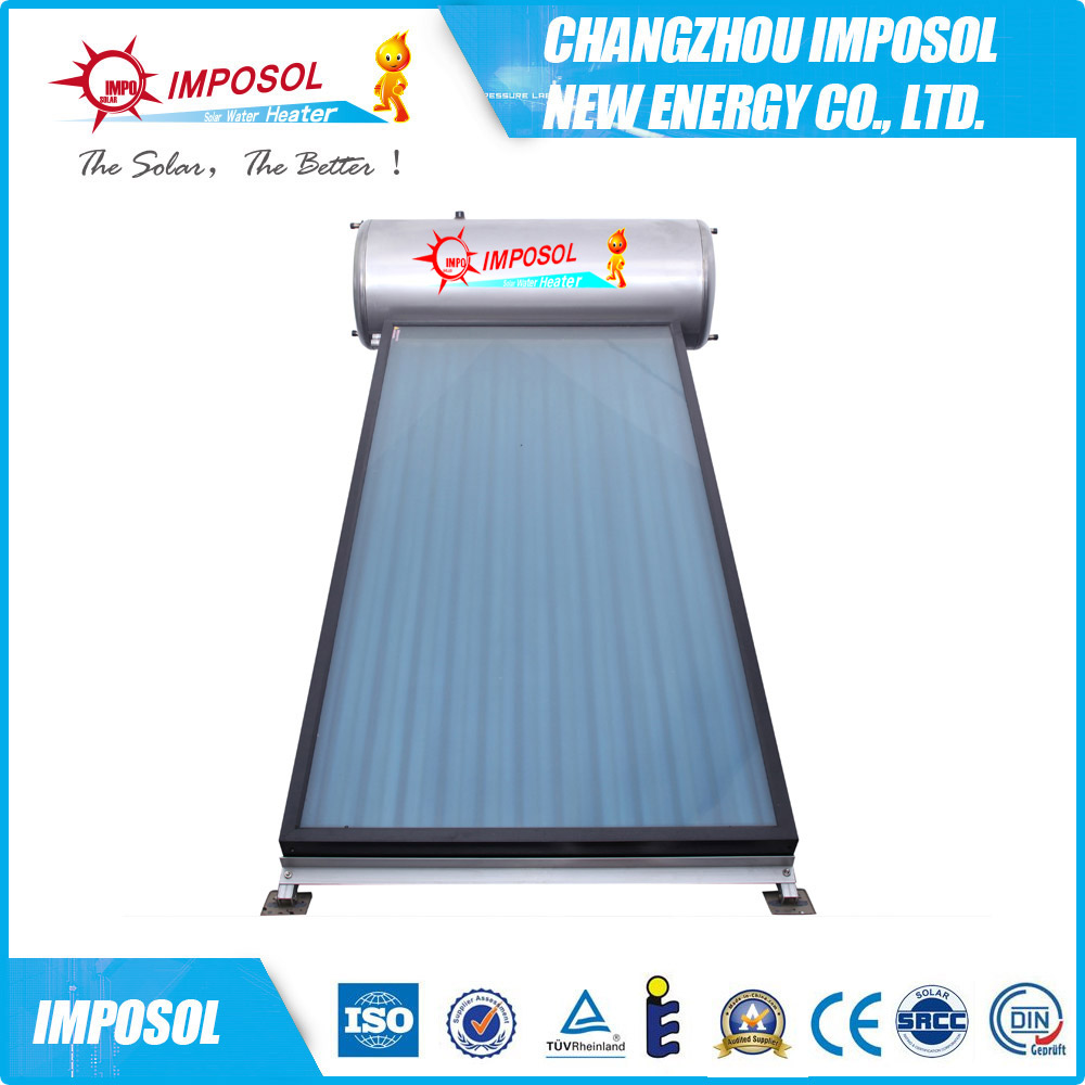 High Efficiency Pressurized Panel Compact Solar Water Heater - Buy ...