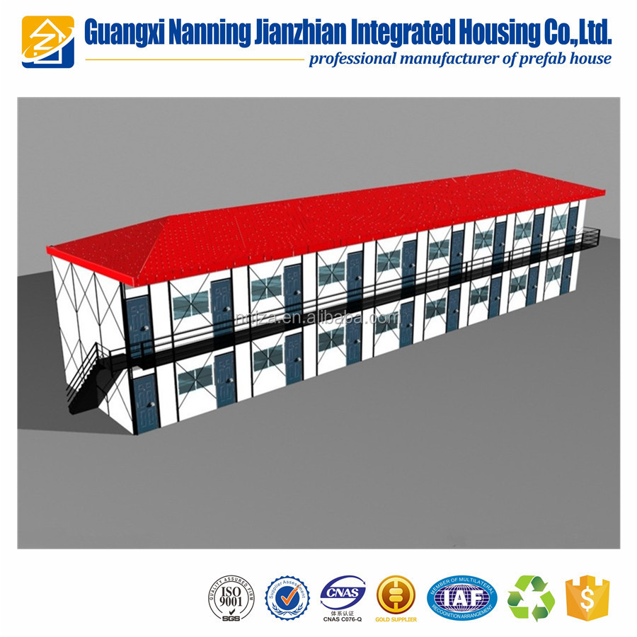 Prefabricated house modular house quick installation low cost prefab house