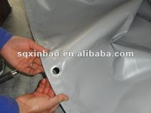 Both Side PVC Laminated Tarpaulin Cover,Truck Tarpaulin ,Boat Cover With Eyelets