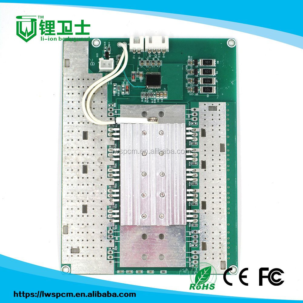 LWS-4S200A-127 4s 200a pcb board with balance/custom 200a storage pcm/lithium battery pack 4s 200a bms 14.8v