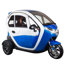 1500W enclosed 3 wheel electric motorcycle