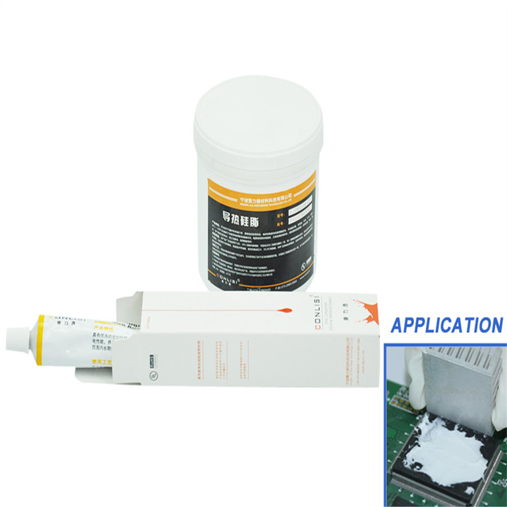 Manufacturer supply Silicone High thermal conductivity gel thermal grease for electronic components and CPU