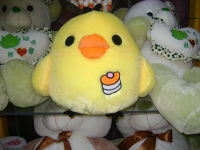 Holiday Supplies Assorted Colorful Plush Easter Chick toy