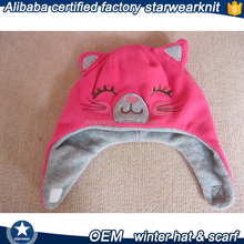 Lovely animal baby winter hat