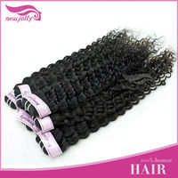 No shedding&tanglling cheap indian extreme curl hair
