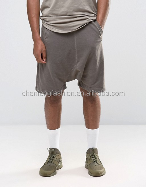 Fashion Casual Drop Crotch Relaxed Fit Shorts