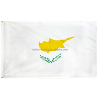 Quick delivery time Cyprus national flags, national flag for advertising