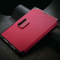 best quality for ipad air smart cover case, leather case cover for ipad 5, kickstand case for ipad air