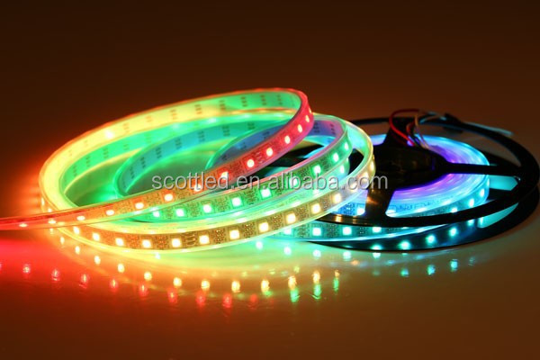ws2801 ws2811 ws2813 pixel digital dream color individually addressable led strip
