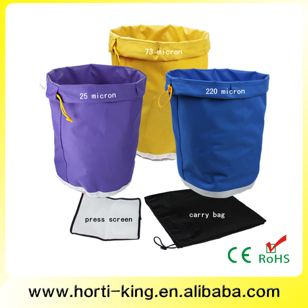 Plant Extract bubble bags extraction herbal extrator ice hash bag kit