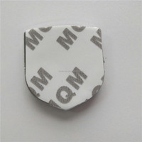 Plastic Chrome 3M Adhesive Car Logo Side Badge Stickers