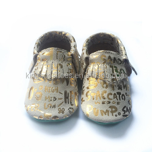 2016 MOQ 50 pairs wholesale shoes baby moccasin leather happy baby shoes newborn baby shoes in bulk
