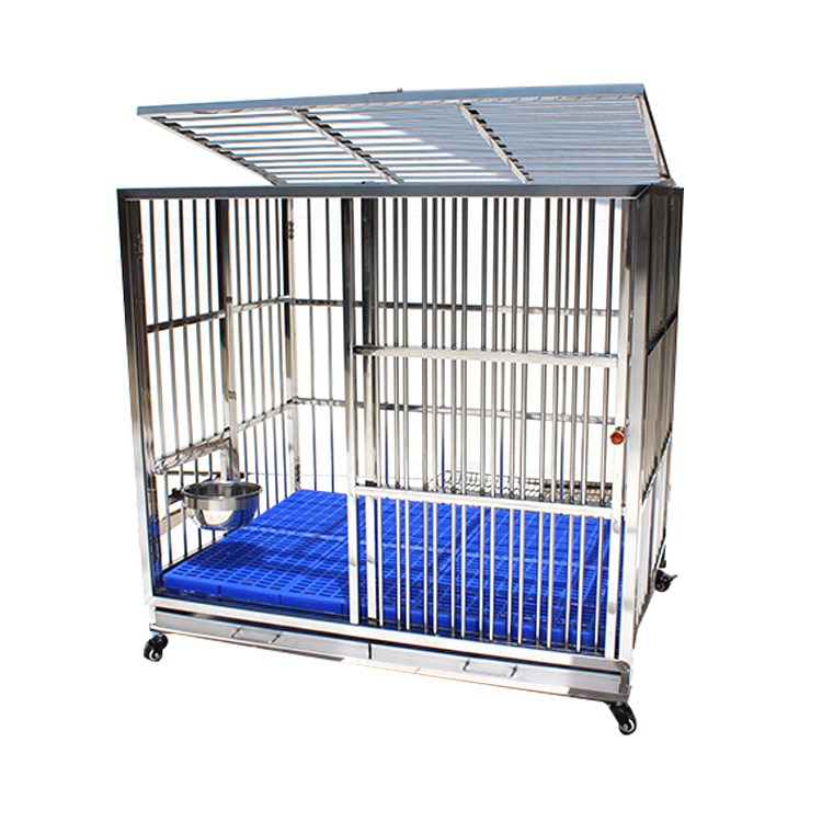 China Wholesale Aluminium Pet Dog Transport Cage