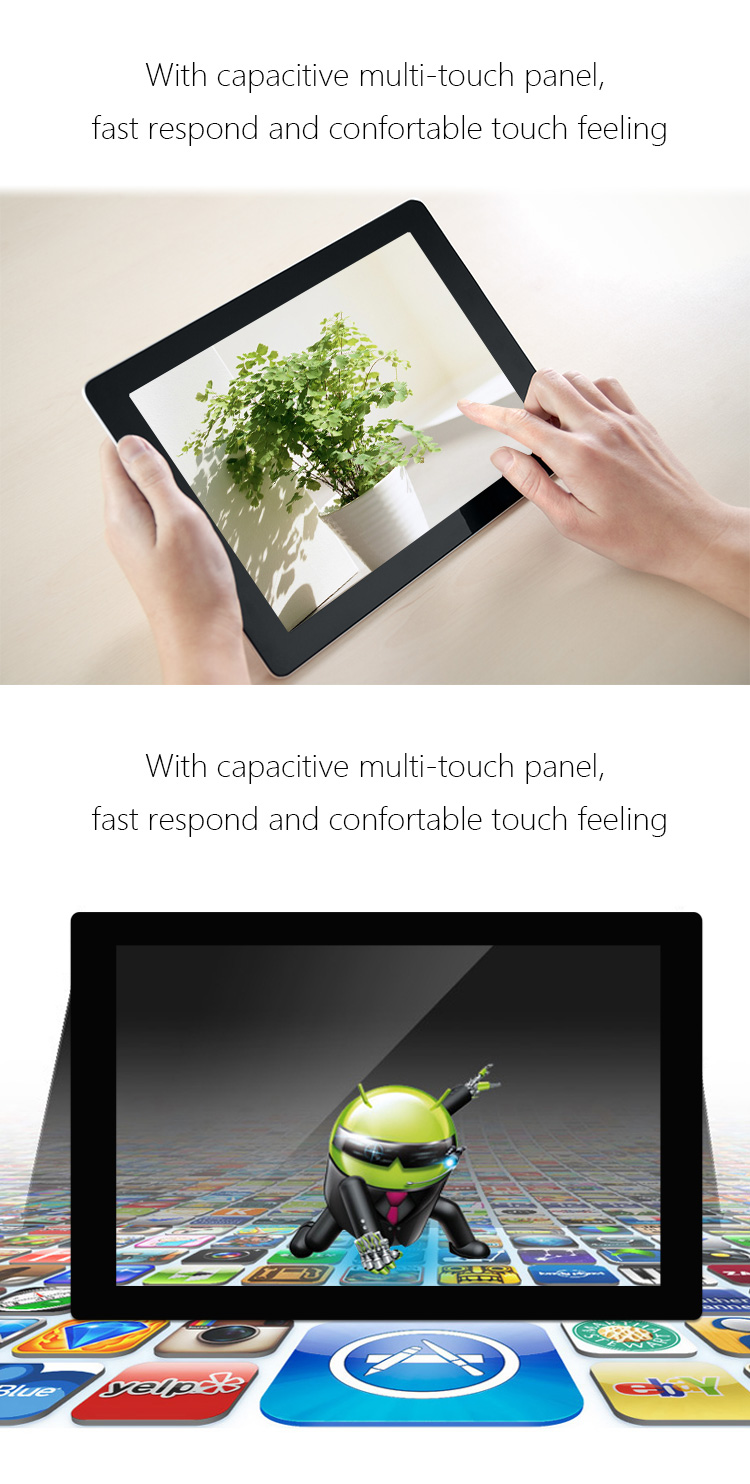 10 32 Inch Android Lcd Touchscreen Advertising Display Touch Screen Monitor Wifi