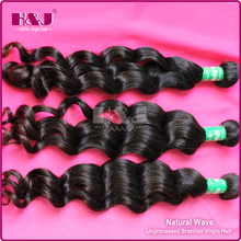 7A best beatiful texture wholesale natural wave weave 100% virgin Brazilian hair