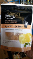 Comvita Winter Wellness Children's Lemon & Honey Lollipops (Manuka Honey UMF 10+) New Zealand NZ