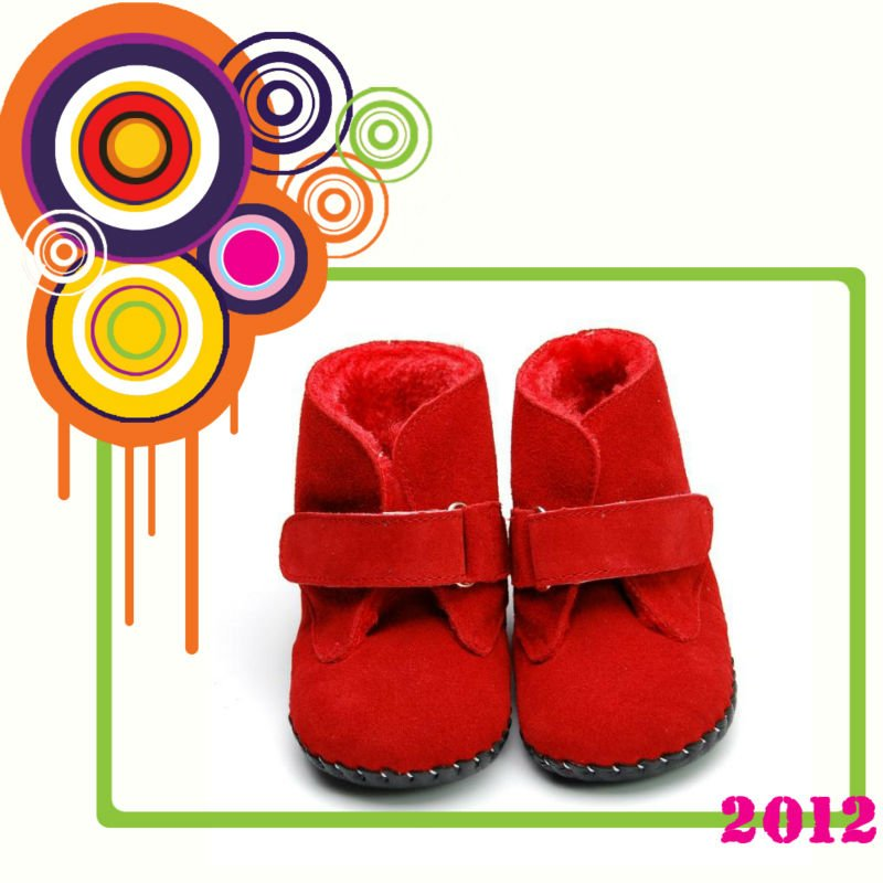 Fashion kids snow boots PB-1057RE