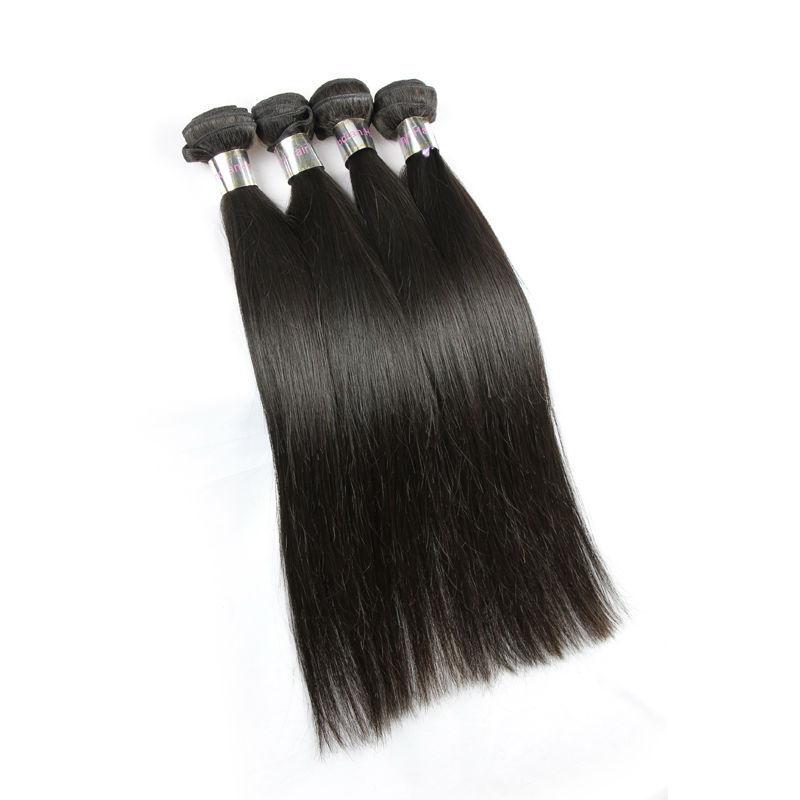 Unprocessed Raw Virgin Indian Straight Hair Weave