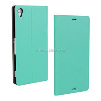 New Arrival Wallet Leather Flip Cover Mobile Phone Case for Sony Xperia Z3