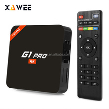 Free shipping Android tv box Amlogic S905 Android 5.1 top box Smart TV BOX with remote control