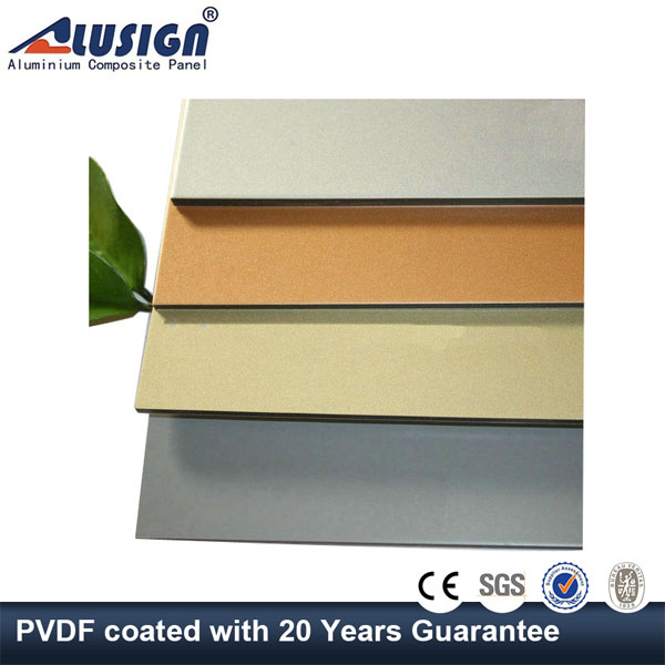 Alusign aluminum fascia panel with high quality honey comb from china
