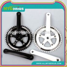 bike crank ,H0T026 carbon crankset for road bicycle , single chainwheel crank