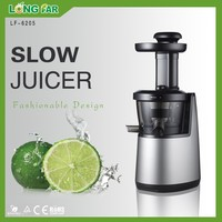 High quality PEI screw 150w 65RPM AC motor slow juicer extractor ,cold press juicer,slow juicer
