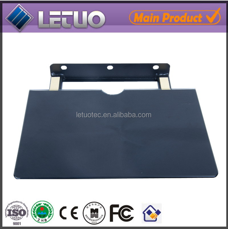 DVD placing plate/Thick glass panel/desktop monitor mount