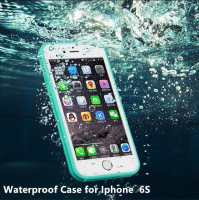 2016 New Soft Shock Dirt Proof Light Unlta Slim Waterproof Mobile Phone Case for Iphone 6splus 4.7/5.5 Inche