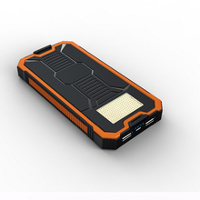 Professional supply 20000mah solar cell mobile power bank for malaysia market