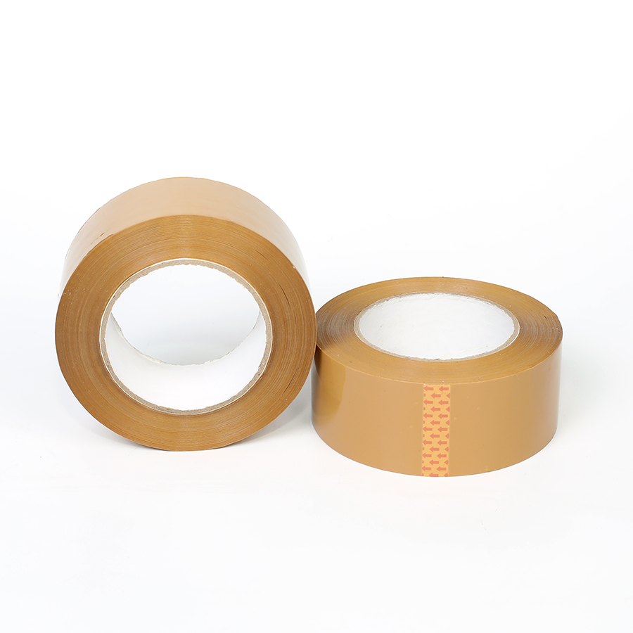 High Adhesion Brown OPP Adhesive Packing Tape for Box Sealing