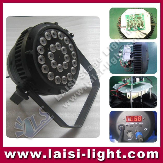 IP 65 outdoor led lighting 18x15w 5in1 rgbwa led flat par