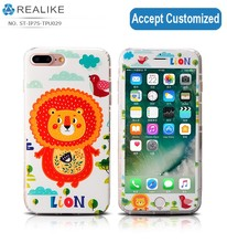 Realike popular plastic screen protector with 360 full tpu for lenovo s850 back cover